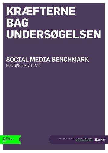 Kræfterne bag undersøgelsen - SocialSemantic