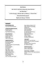 GR-Sitzungsprotokoll 2007-10-04 (227 KB) - .PDF - Steyr