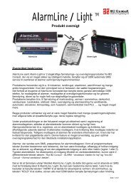 AlarmLight beskrivelse - BD Consult Electronic Engineering A/S