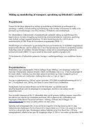 Introduktion til del 1 - Water & Environment - Aalborg University