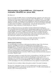 Dokumentation af DanishEMD.wex – fil til import af ... - Vindstat.dk