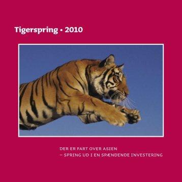 Tigerspring • 2010 - Jyske Bank