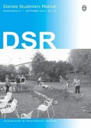 September 2010 - Danske Studenters Roklub