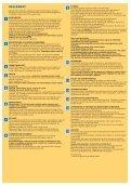 Betingelser, Opholds- og Pladsregler - Camping Union Lido Vacanze - Page 2