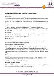 2013-01-29 Forklaring vedrørende overskud på regnskab 2012 med ...