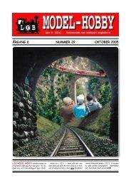 Nr. 29 / 2005 - LGB-Hobby