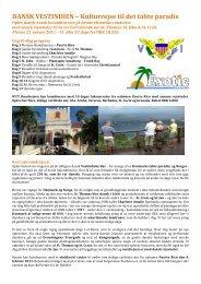 DANSK VESTINDIEN – Kulturrejse til det tabte paradis - Exotic Travel