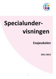 Åbn specialundervisningsfolder som pdf-fil - Esajasskolen