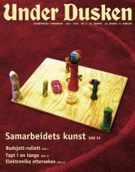 Samarbeidets kunst SIDE 25 - Under Dusken