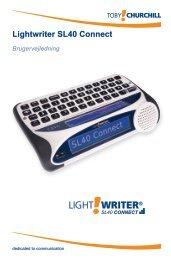 Lightwriter SL40 Connect - Toby Churchill
