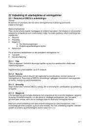 22 Vejledning til udarbejdelse af retningslinier - DBCG