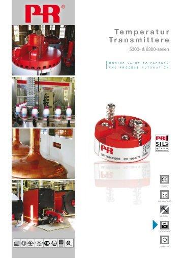 Temperatur Transmittere - PR electronics