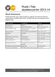 Skive Kommune - Levende Musik i Skolen