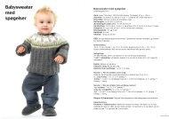 Babysweater med spøgelser Babysweater med ... - SuperBrugsen