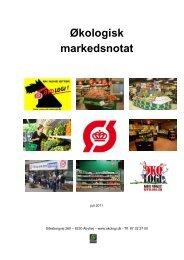 markedsnotat m_forside_final.pdf - Økologisk Landsforening