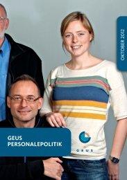 personalepolitik 2012 - Geus