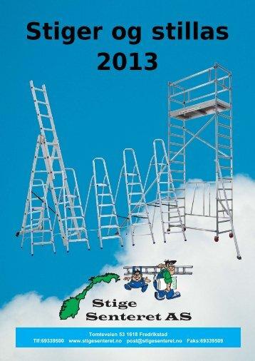 Stiger og stillas 2013.pdf - Stigesenteret