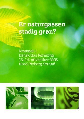 Årsmødebrochure - Dansk Gas Forening