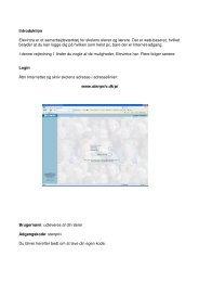 Introduktion Elevintra er et samarbejdsværktøj for skolens elever og ...