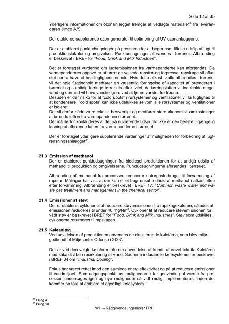 Bilag A, del 1 - Miljøstyrelsen