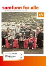 Samfunn for alle nr. 1/2013 - NFU