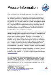 Presse-Information - Maritime Landschaft Unterelbe