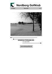Klubblad nr. 1 - 2004 - Nordborg Golfklub