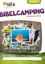 BC-2013 Leder - Dyr - Danmarks Folkekirkelige Søndagsskoler