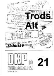 DKP og Frihedskampen Bind 21