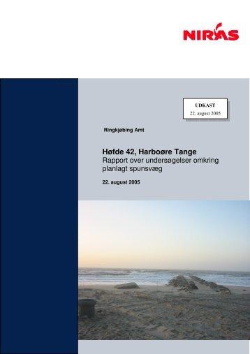 2005-08-22. Høfde 42. Harboøre Tange. Rapport ... - NorthPestClean