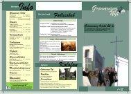 Kirkeblad nr 1 2012 - Grønnevang kirke