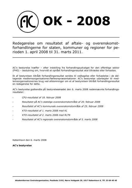 OK - 2008 - Arkitektforbundet