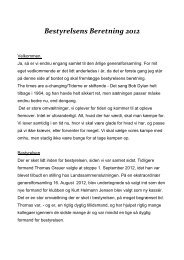 Læs bestyrelsens beretning 2012 her. - AABklubben