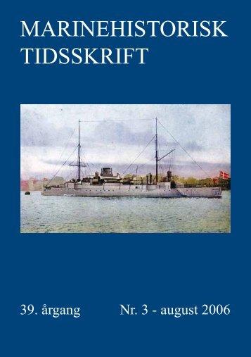 Nr. 3 / 2006 - Marinehistorisk Selskab og Orlogsmuseets Venner