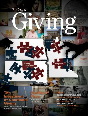 Winter 2009 - Today's Giving