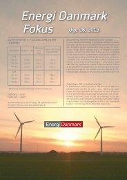 Energi Danmark Fokus uge 28 - 2013