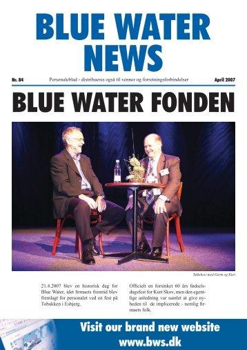 BLUE WATER FONDEN - Blue Water Shipping