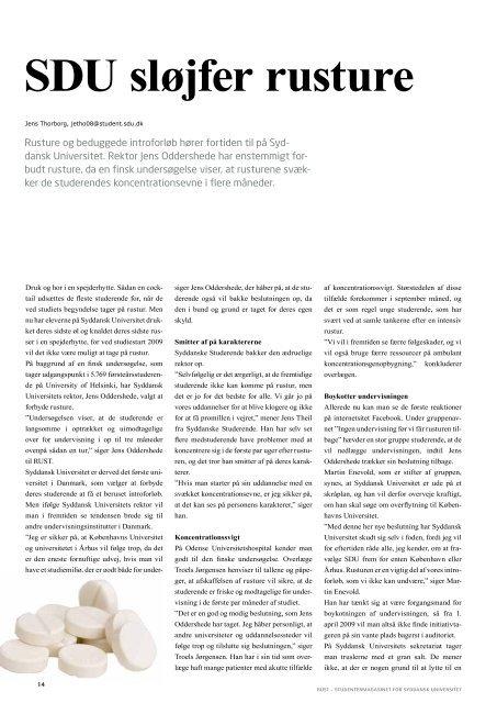 April 2009 - RUST-magasinet