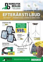 EFTERÅRSTILBUD - Nordjysk Beslag A/S