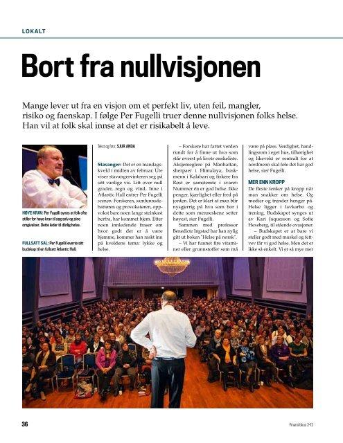 Last ned Finansfokus 02/12 som PDF - Finansforbundet