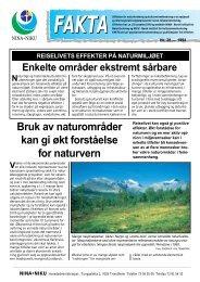 Bruk av naturområder kan gi økt forståelse for naturvern - NINA