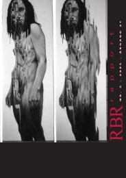 RBR Rapport nr. 3 2005