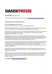 Nyhedsbrevet Dansk Presse uge 36 - Danske Dagblades Forening
