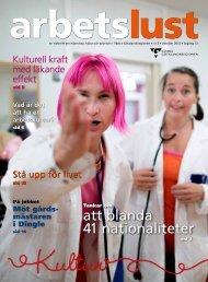 Arbetslust nr 3 2012 - Institutet för stressmedicin