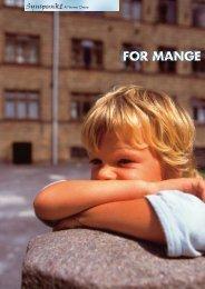 FOR MANGE FOR MANGE - Elbo
