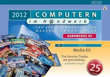 englisch 2012 - Computern im Handwerk