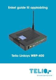 Enkel guide til oppkobling WRP-400.pdf - Telio