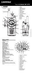 DANSK Tovejs radio Model MT 975 10376 MT975_DANISH.qxd 1 ...