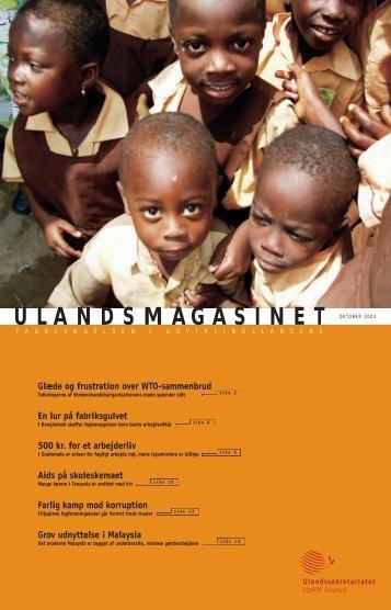 Download magasinet som pdf - Ulandssekretariatet