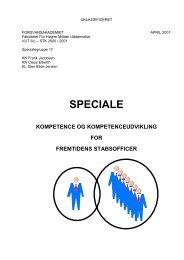 Speciale Kompetence og kompetenceudvikling